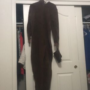 Tall Chewbacca Onesie.